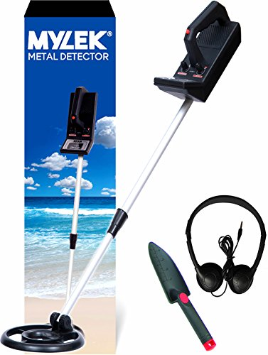 MYLEK® Lightweight Metal Detector Kit – Detects all Gold, Silver, Ferrous and Non-ferrous Metals Test