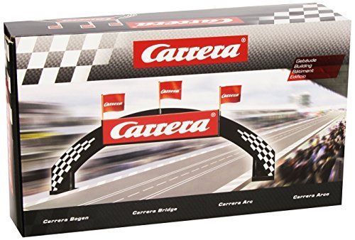 Carrera Bridge with Carrera logo for 124 / 132 slot car track 21126 by Carrera USA
