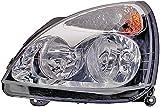 HELLA 1DB 008 461-851 Halogen Hauptscheinwerfer, Links, Ohne Kurvenlicht, mit Glühlampen