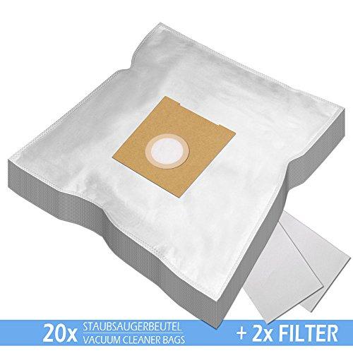 SPARPAKET - 20 Staubsaugerbeutel geeignet für ROSSMANN R 020, R020