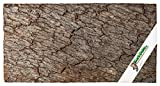 3D - Korkrückwand aus Einem STÜCK Kork-Rinde 60x30 cm | Naturkork-Rückwand für Terrarium, Paludarium, Aquarium