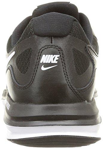 Nike Dual Fusion X, Scarpe Sportive, Uomo Grigio -Nero-Bianco