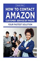 How To Contact Amazon Customer Service By Phone Paperback