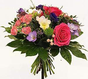 """Blumenstrauß mit FRISCHEN BLUMEN   PERFEKT als GESCHENK   MEISTERBETRIEB  """"Farbpalette"""" Größe 35 Euro"""