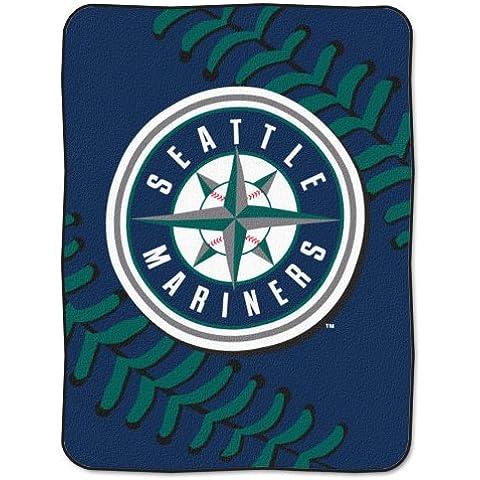 North-west Seattle Mariners MLB felpa Raschel manta - gran Royal costura - 60 x 203,2 cm Series