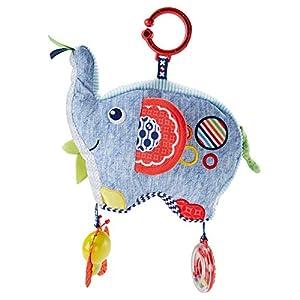 Fisher-Price Elefante activity, juguete colgante para bebé recién nacido (Mattel FDC58)