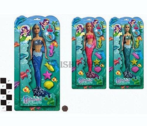 Impresionantes pequeñas muñecas sirena - Princesas con los...