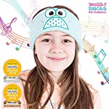 Snuggly Rascals (v.2) Kinder-Kopfhörer, Ultra-bequem, größenverstellbar und mit begrenzter Lautstärke (Baumwolle, Eule)