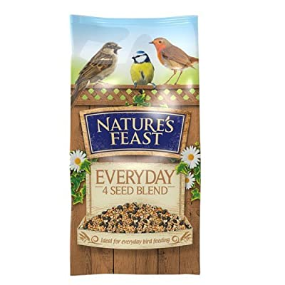 Nature's Feast Everyday 4 Seed Blend For Wild Birds, 18 kg