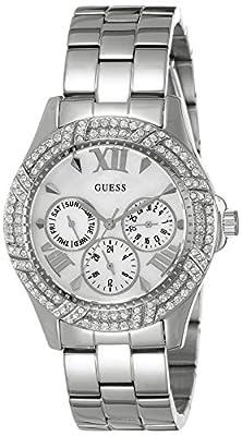 Guess W0632L1 - Reloj de lujo para mujer, color plateado