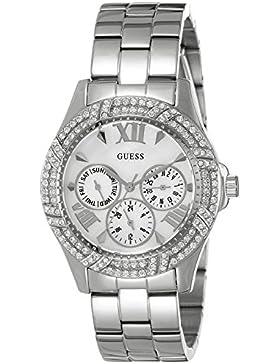 Guess Damen-Armbanduhr Ladies Sport Analog Quarz Edelstahl W0632L1