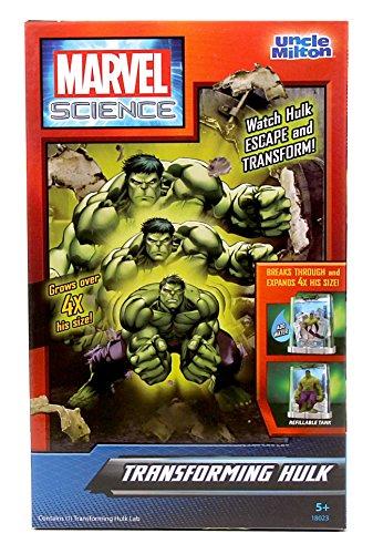 Uncle Milton Transforming Hulk Marvel Science Kit