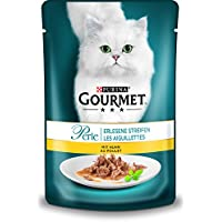 Purina Gourmet Perle Erlesene Streifen Katzennassfutter, 24er Pack (24 x 85g Portionsbeutel)