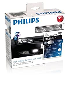 Philips 12831ACCX1 LED Daylight4 WLED Fixation par Clip, 12V, Set de 2 modules