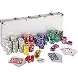 Mallette professionnelle de poker set coffre 500 jetons