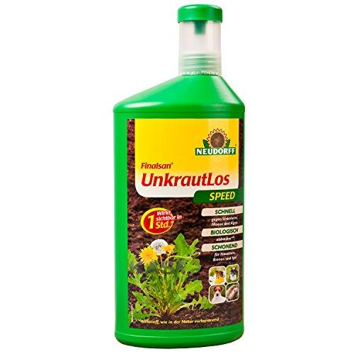 Neudorff Finalsan UnkrautLos Speed 1 Liter Konzentrat Unkrautvernichter Unkraumittel Unkraut-Ex ohne Glyphosat