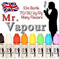 Mr Vapour Bubblegum E-Liquid E-Juice E-Shisha Hookah Pen 10ml