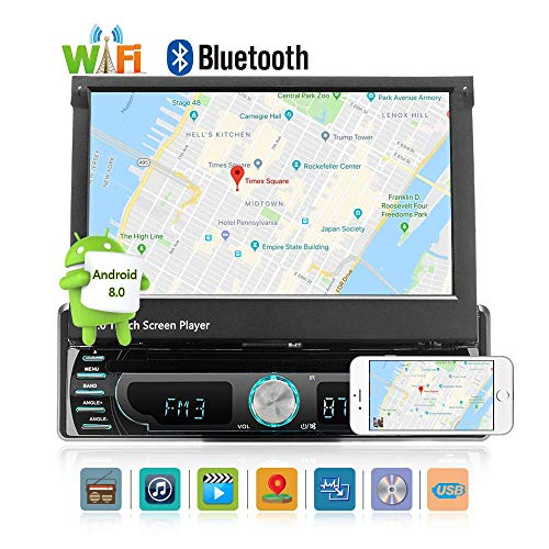 Android 8.0 Car Radio Stereo Audio 7.0