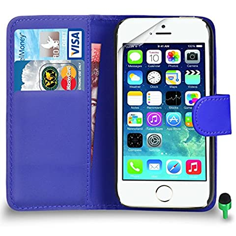 POUR Apple iPhone 5 / 5S - SHUKAN® Prime Cuir