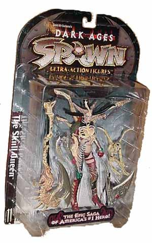 [McFarlane Toys Spawn The Dark Ages] Spawn Ultra-Action-Figur Der Sch?del QUEEN / The Skull Queen (Japan-Import)