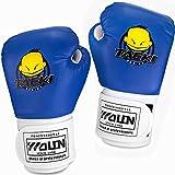 GIM Kinder Boxhandschuhe Unsiex Junior Handschuhe Punchinghandschuhe 4 Oz, 1 Paar Cartoon Blau