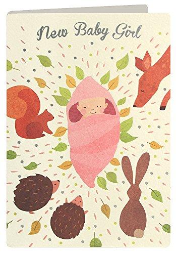 james-ellis-urban-fox-press-woodland-new-baby-girl-card