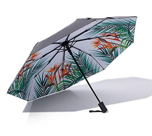 HYFZY Paraguas, Paraguas Creativo pequeño Fresco