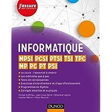 Informatique - MPSI, PCSI, PTSI, TSI, TPC, MP, PC, PT, PSI