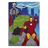 Avengers - Power - Kinderteppich Teppich Kinderteppich Kinder Teppich Spielteppich darf in keinem Kinderzimmer fehlen 95 x 133 cm
