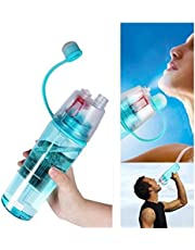 Inditradition 2 in 1 Drink & Mist Water Bottle | Spray Water Bottle, 600 ML