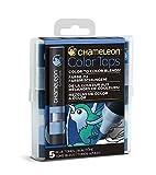 Chameleon Art Products - 5 Color Tops - Accessoires Chameleon pour des dégradés de Couleurs; Tons Bleus