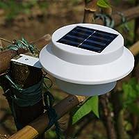 LU2000 Luz solar de la cerca, Solar Powered luces de jardín, luces solares del