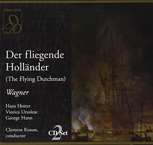 Wagner : Der Fliegende Hollander. Krauss, Hotter