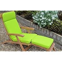 Cuscino per sedia da giardino classico lacuale - cuscino solo - Apple Green