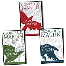 George R.R. Martin A Game of Thrones Graphic Novel 3 Books Collection Pack Set RRP: £59.49 (A Game of Thrones: Graphic Novel- Volume One, Volume Two & Volume Three)