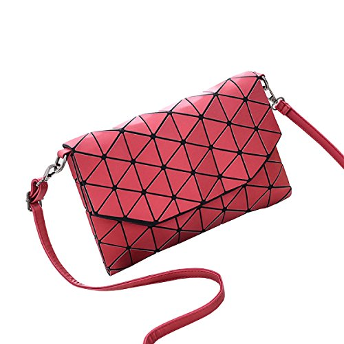 LAIDAYE Ms. Messenger Tasche Damenhandtasche Tasche Clutch Handtasche Schulter Umhüllen 6