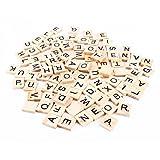 100Scrabble-Buchstabensteine