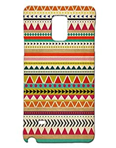 Mobile Cover Shop Glossy Finish Mobile Back Cover Case for Samsung Note 4