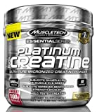 MuscleTech Platinum 100% Creatine Kreatin Für Muskelaufbau Und Kraft I Unterstützung Beim Bodybuilding 204g Unflavoured