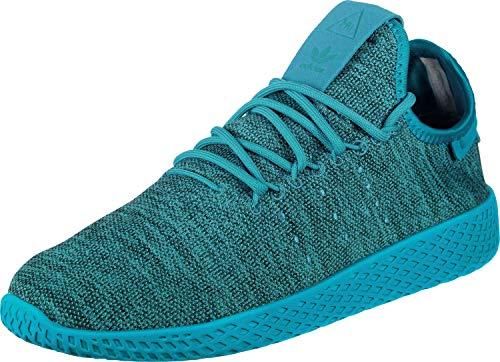 adidas PW Tennis HU J, Scarpe da Fitness Unisex-Adulto, Blu (Agufue/Agufue/Blatiz 000), 40 EU