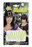 Set de cinq doigts clous brillamment vêtu dans l'obscurité de l'obscurité Carnaval Halloween maquillage déguisement