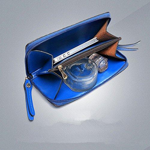 Eysee, Borsa tote donna rosso Blue 33cm*25cm*11cm rosa