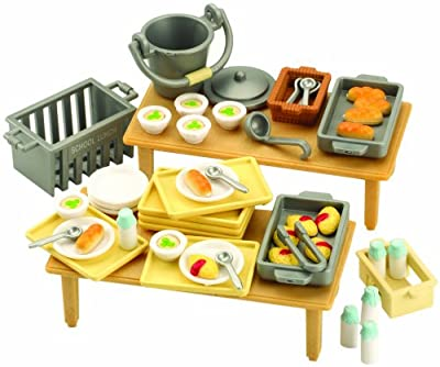 Sylvanian Families - Familias Sylvanian comedor escolar Set por Flair Leisure Plc