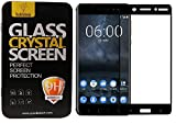 #9: Nokia 6 Full Screen Tempered Glass with 100% Coverage by Parallel Universe- Black