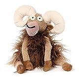 sigikid, Stofftier für Erwachsene und Kinder, Büffel, Muffel Buffel, BeastsTown, Braun, 38740