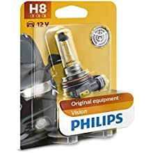 Philips Vision 12360B1 H8 Headlights Single Bulb