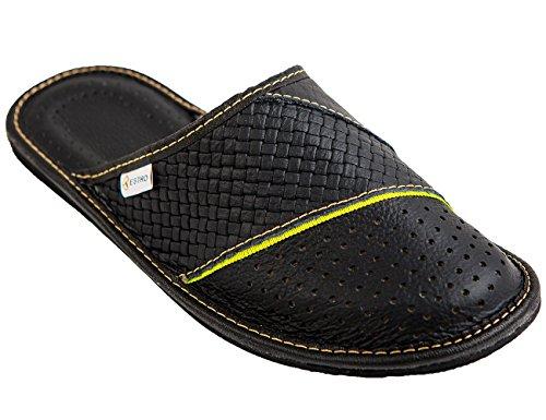estro mens slippers men s slipper men house shoes leather home mule