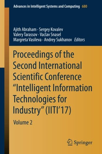 "Proceedings of the Second International Scientific Conference ""Intelligent Information Technologies for Industry"