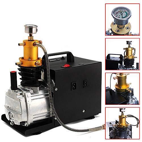 Elektrische Hochdruck Luft Kompressor Pumpe, PCP Luftkompressor-Luftgewehr Gewehr Inflator 220V 30 Mpa, für Automobil, Tauchflasche, industrielle Flasche -