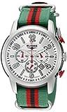 Elysee Men'Race 1-Armbanduhr Chronograph 80523 Mehrfarbig Nylon-Gurt